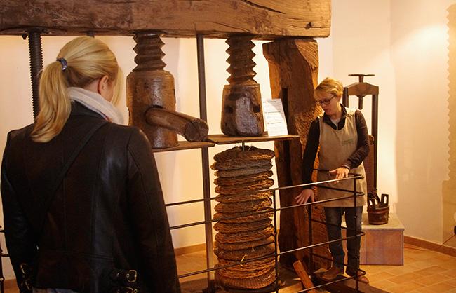 Pressa XVI secolo - Museo dell'olio Al Vecchio Frantoio Bartolomei