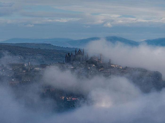 Facciata del duomo di Orvieto - foto Luca Marani