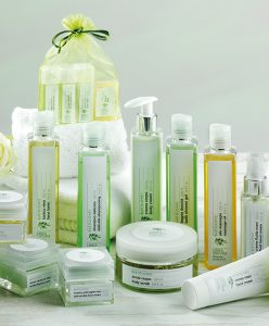 cosmetics with oil